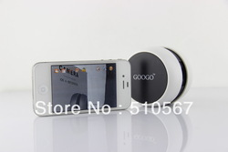 Free shipping GOOGO wireless mini CAMERA based on IOS and ANDROID system used for traffic safety baby care home safety(China (Mainland))