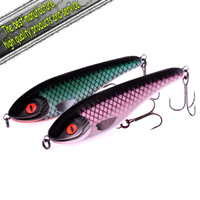 Jerk bait fishing lure minnow Lethal Killer-2/color