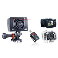 2013 Hot sell Mini DVR Outdoor Extreme Sport Action camera 1080p waterproof Housing+170degree wide angle+ Remote SD20