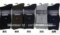 men`s socks mix colors cotton socks 12pair/lot tube socks high quality 5Colors