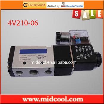 china 4V210-08 alloy 4v type of airtac valve
