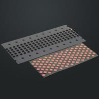 10PCS  Hot Wholesale Proximity Light Sensor Flex Cable rubber sticker for iPhone 4G D0333