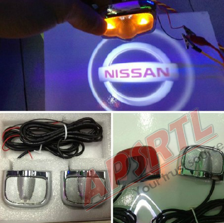 Car Exterior Accessories Dndamage Led Side Door Light With Sticker Function For Multiple Choice Like VW Honda Nissan and Others(China (Mainland))