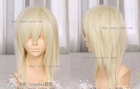 New Medium Light Blonde Cosplay Women's wig Wigs