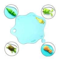 Fedex/DHL/EMS free shipping anti slip animal water stain coaster, water drop heat insulation mat