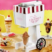 Free shipping automatic ice cream machine electric ice cream maker