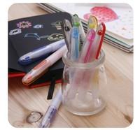 10pcs/set Graffiti Universal Pudding Jelly Pen Buntstift Painting Brush Pastel Paint Markers Fantasy Fun Water Chalk