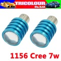 DHL FREE! Ba15s 1156 S25 P21W CREE Q5 7W high power car led Indicator Reverse Brake Light Bulb Lamp wholesale#D09079