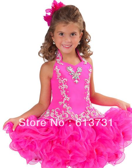 Little Girl Pageant Dress