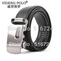 Men's high-end automatic buckle belt, leather belt