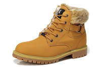 Gleestep winter trend plus velvet men's high-top shoes,male tooling/martin boot cotton-padded shoe,snow boots,black,brown,yellow