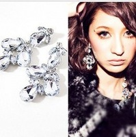 FREE SHIPPING!2013 FASHION JEWELRY,stylish EMODA rhinestone shining luxury drop earring(MIN. ORDER IS $15,CAN MIX PRODUCTS)