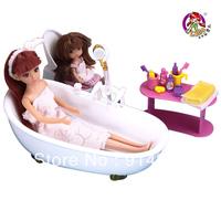 Bathroom set spray dream bathroom doll girl toys