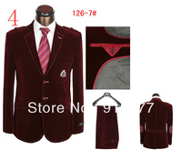 Latest Style High Quality Fashionable groom suit For Men's Leading Design Classic Male Long Sleeve Suit (Coat + Pants)