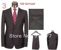 Free shipping high quality normal social male groom suit  suit top design male dress suit (coat + pants) size S M L XL XXL XXXL