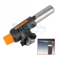 Gas Torch Butane Burner Auto Ignition Iron Gun For Soldering Welding BBQ Travel