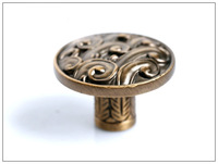 30Pcs Decorative Antique Kitchen Cabinet Drawer Baroque Knob Handle (Diameter:35mm)