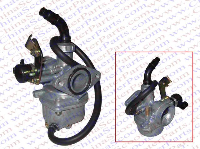 Cable Choke 19MM PZ19 Carb For Honda 50CC 70CC 90CC 110CC 125CC Kazuma Taotao Roketa Dirt Pit Bike ATV Quad Carburetor(China (Mainland))