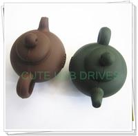 50pcs Teapot PVC 2GB/4GB/8GB/16GB/32/64GB Real Capacity USB 2.0 Flash Drive Memory Stick With Gift Box Fast Free shipping