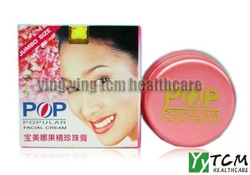 Hot wholesale POP Popular Facial Cream whitening cream pearl cream Concealer 20g/pcs skin care(China (Mainland))