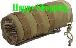 Molle System 1000D Nylon Fabic Cantee Pouch Kettle Pouch bags Sand(China (Mainland))