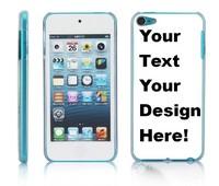 custom case for ipod touch 5 5rd gen ,plastic pc hard case customrized printing 100pcs/lot mix 5 designs free DHL