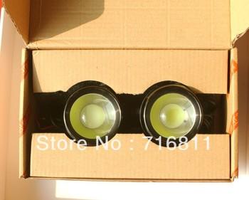 Eagle-eye light 24W/pair Diameter 6.0mm super bright LED Rascal lamp DIY DRL fog light backing light