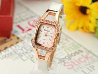 2013 korea  women and ladies fashion designer top brand bracelet Rose Gold watch wristwatch luxury watch free shipping