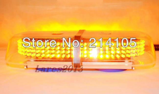 240 LED Car Roof Flashing Strobe Emergency Light Amber New(China (Mainland))