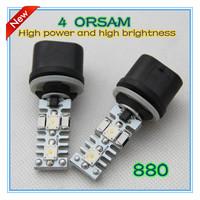 Free shipping  12w 880  4 pcs OSRAM  3W  chip  high power and high brightness LED  fog  light  2013 new sytel retail