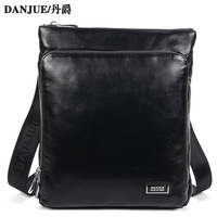 Ivy Bag!2013 New High Quality First Layer of Cowhide Luxury Men Shoulder Bag messenger bag business bag free shipping