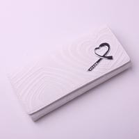Wallet women's medium-long bag zipper coin pocket 2013 women's 29 white