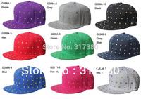 2013NEW Brilliant Visor Snapback Cap Flat Billed Hats Baseball Hat Men Snap Backs Mens Snapbacks Women Snap Back Caps Sport G288