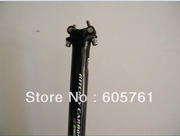 RTCHEY WCS Seatpost 3k carbon fiber bike bicycle seat post 30.8/27.2/31.6*350mm