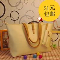 2013 fashion formal buckle bag all-match one shoulder women's handbag bag wholesale ladies handbags