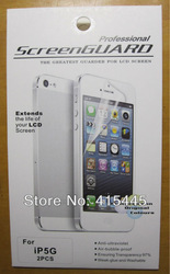 High Quality Clear Screen Protector Front+Back For iPhone 5 5G Full Body LCD Guard Flim with Retail Package Free Shipping 10pcs(China (Mainland))