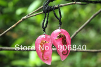 Starfish Amber Jewellery Pendant Necklace Romantic Lovers Gift 50pairs Mixed Lot Free Shipping