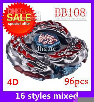 Promotions metal fight Beyblade 4d BB108 metal battles arena beyblades set games kids toys(China (Mainland))