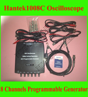 Hantek1008C 8 Channel PC Virtual automobile Oscilloscope/data acquisition card/ 8 channel programmable signal generator