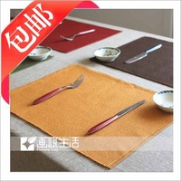38 100% cotton fabric mat dining table mat heat insulation pad slip-resistant pad bowl pad