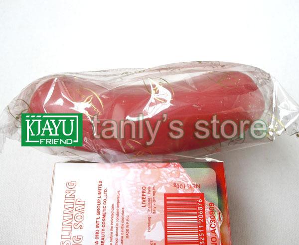 wholesale body soap chili essence 3 days show slimming1 pcs chili slimming soap skin care(China (Mainland))