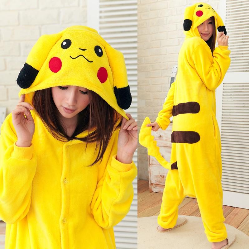Anime Costumes Girls Anime Girl in Pikachu Costume
