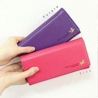 Women's wallet female long design wallet women's mobile phone wallet