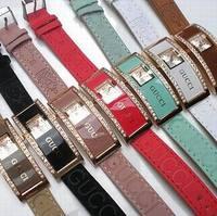 Free Shipping Top Brand Diamond Watch Wrist Watch Gift for Women Lady