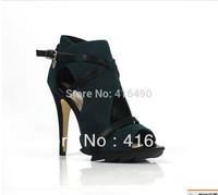 free shipping 2013 fashion vintage cutout platform open toe high-heeled shoes fashion sandals women's shoes