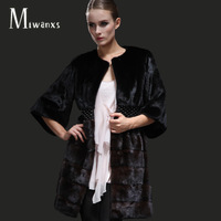 Mink fur overcoat outerwear 2012 fur coat long design original design women's