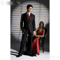 Cheap  Groomsman dress Custom Free  get married men Wedding Bridegroom Suits  (Jacket+Pants+coat) A006