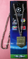 4 Stars Italy Italia National Soccer Team Bronze Pendant Necklace