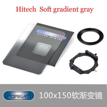 Hitech 100 REVERSE 1.2  GND Grad 4x6 100x150 Lee Holder Soft Gradient Gray+Applies to 100 mm filter bracket +77mm ring
