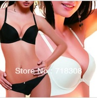 2013 Free Shipping Plus Size Front Enclosure Sexy Adjustable Bra Seamless Push Up Bra Set Women's Underwear Set wholesale&retail